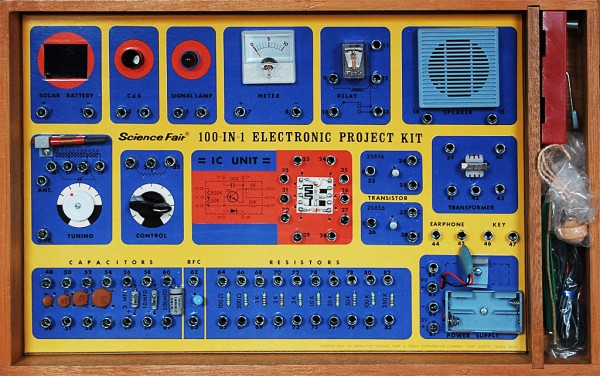 Science Fair 100-in-1 Electronic Project Kit (1973)